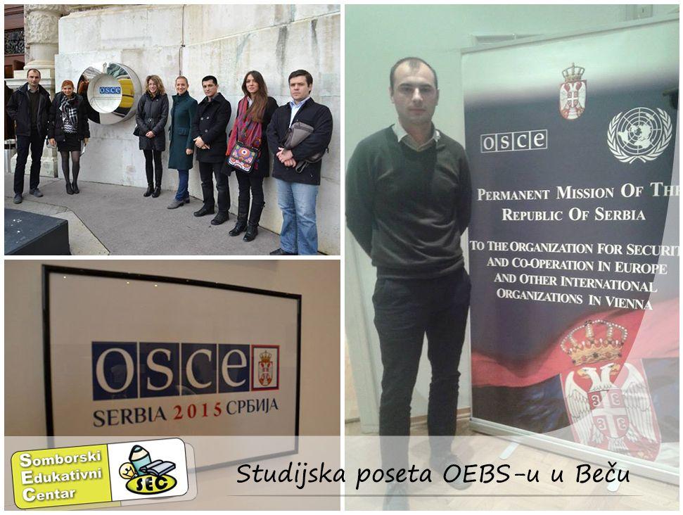 Studijska poseta OEBS-u u Becu | Somborski edukativni centar
