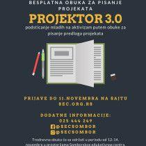 besplatna obuka za pisanje projekata