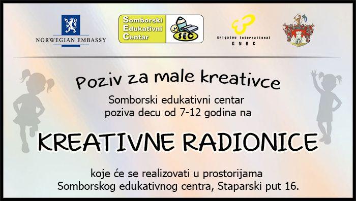 Kreativne radionice za decu